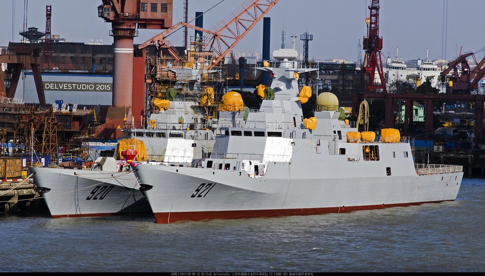 Fragatas C-28A de construção chinesa para a Argélia - 1