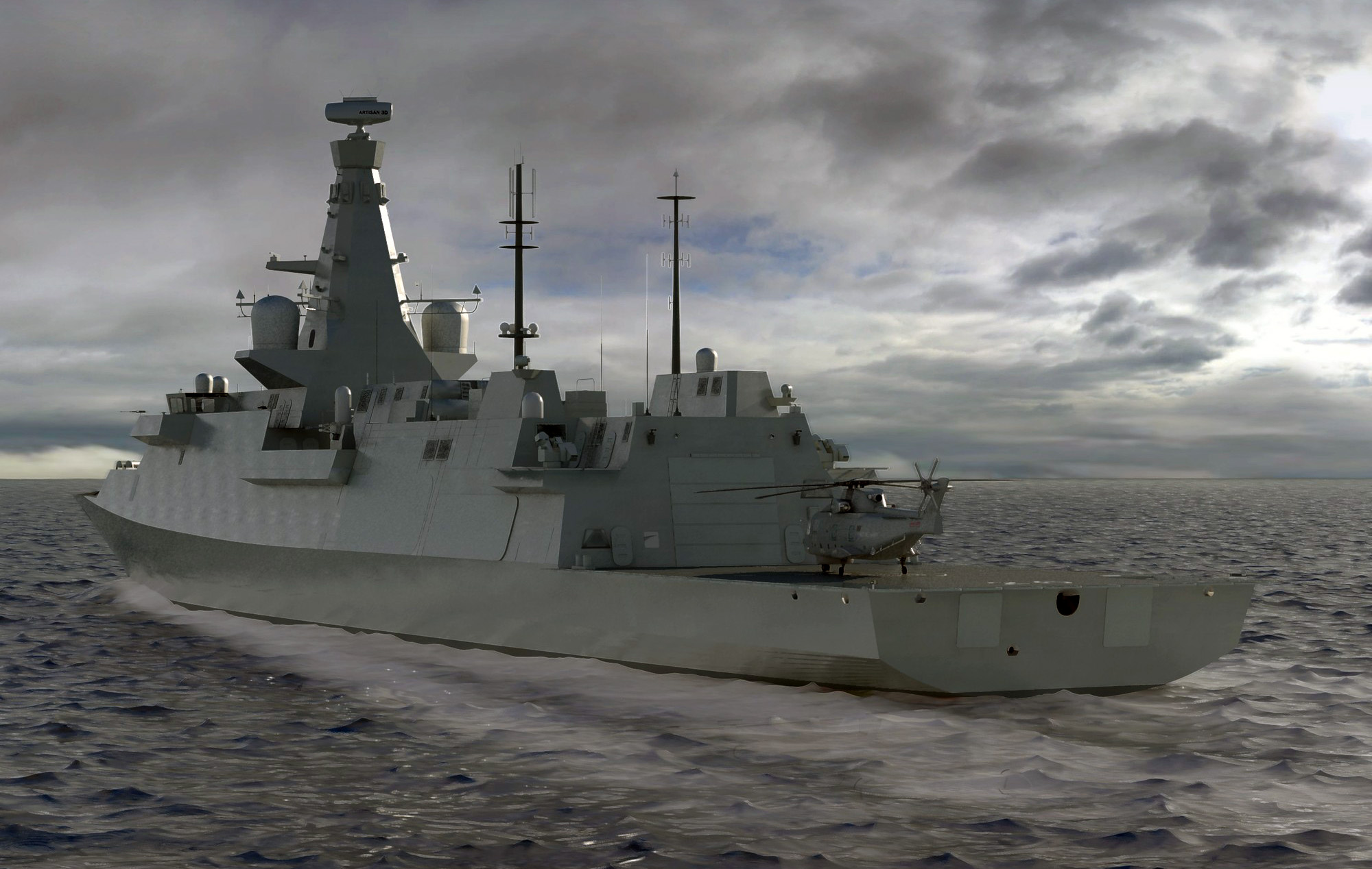 IMAGE 3: Type 26 Global Combat Ship exterior