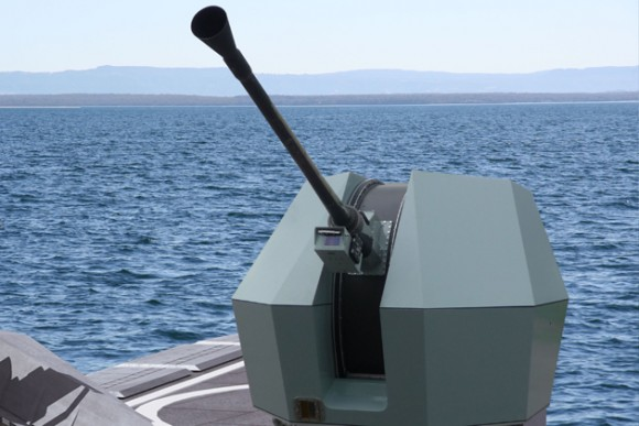 BAE_Bofors_40_Mk_4_Naval_Gun_System