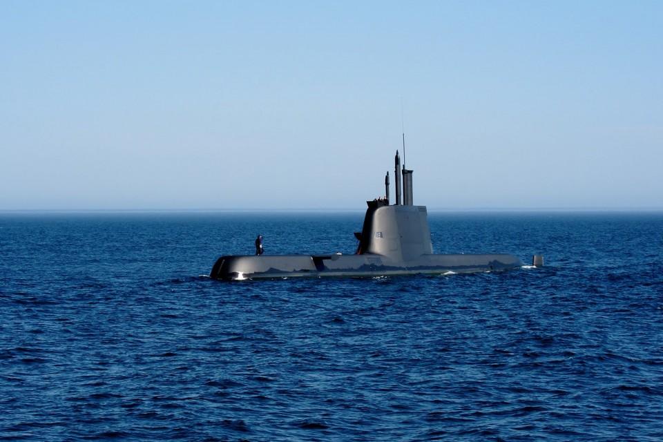 Submarino U-209PN classe Arpão