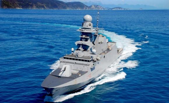 FREMM Carlo Bergamini - foto 2 Marinha Italiana