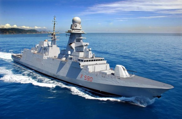 FREMM Carlo Bergamini - foto 3 Marinha Italiana