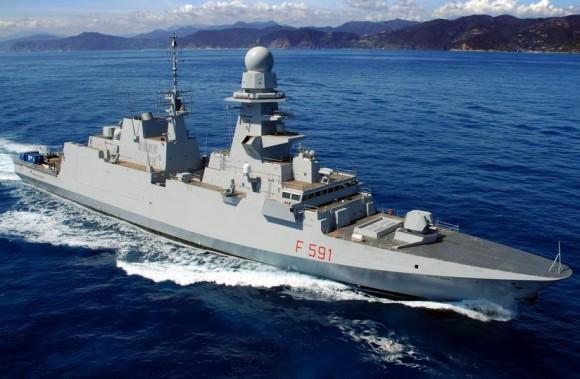 FREMM Virginio Fasan - foto Marinha Italiana