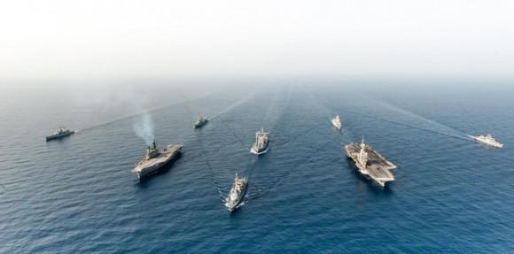 Exercicio indo-frances Varuna - foto 4 Marinha Francesa