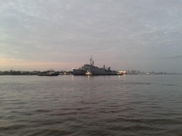 NDD Ceará atracando na Base Naval de Val de Cães, em Belém do Pará - 3