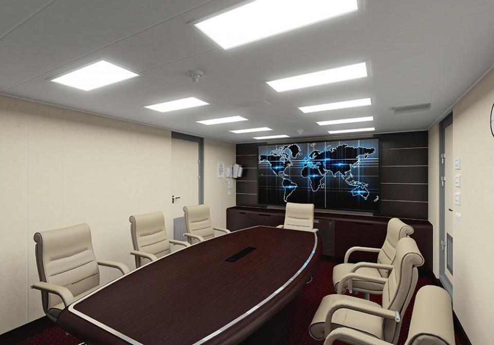 Projeto 22100 - compartimento de conferência