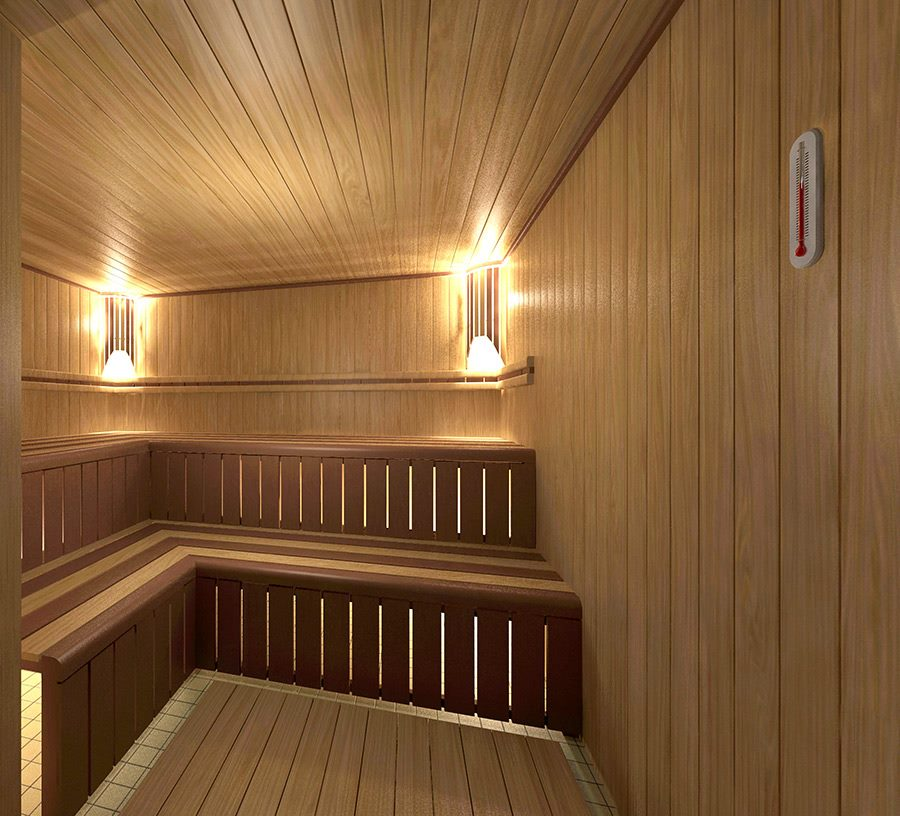 Projeto 22100 - sauna