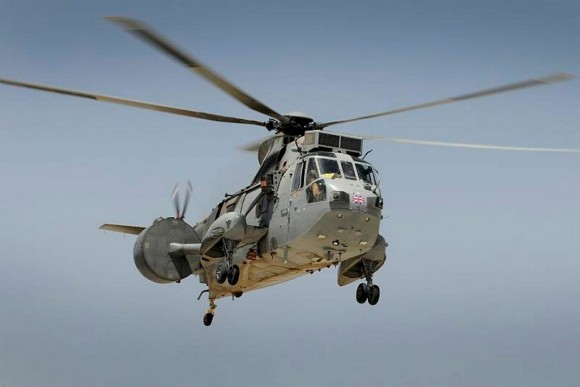 Sea King Mk7 - foto via Min Def Britânico