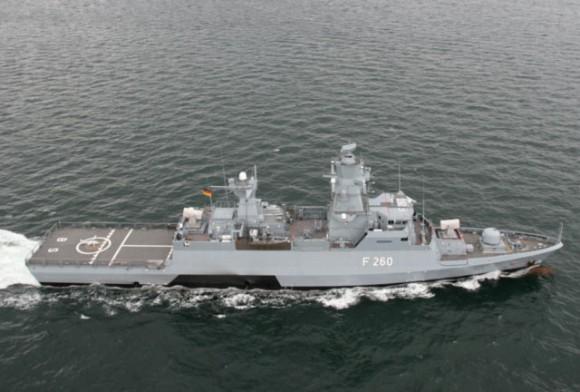 corveta Braunschweig - tipo K-130 - foto Marinha Alemã