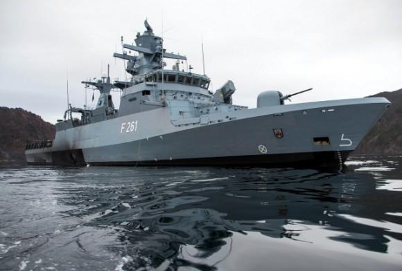 corveta Magdeburg - tipo K-130 - foto Marinha Alemã