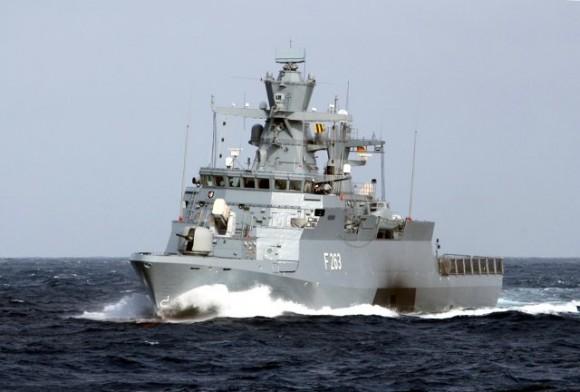 corveta Oldenburg - tipo K-130 - foto 2 Marinha Alemã