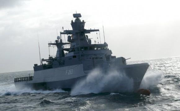 corveta Oldenburg - tipo K-130 - foto Marinha Alemã
