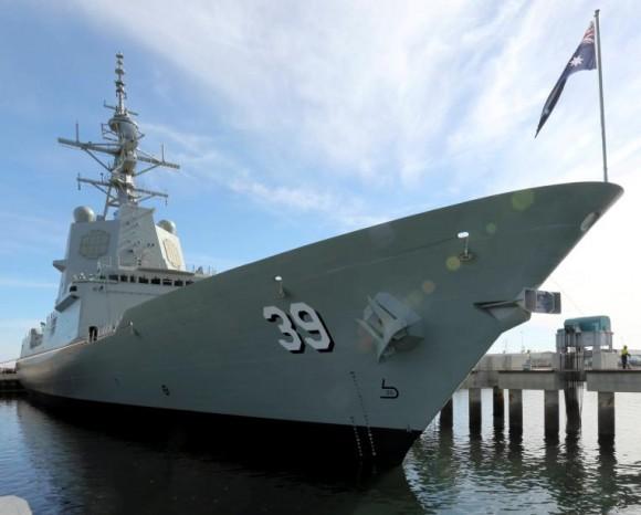 lançamento Hobart - foto 2 Marinha Australiana