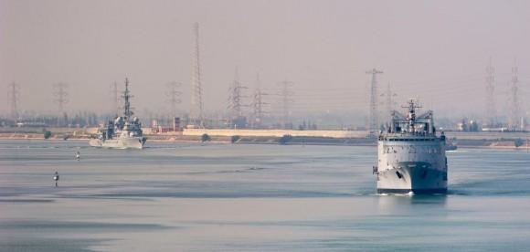 navios da comissão Arromanches em Suez - foto 2 Min Def França