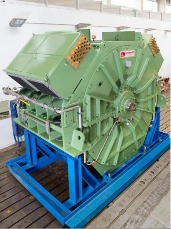 Motor elétrico Jeumont do Riachuelo