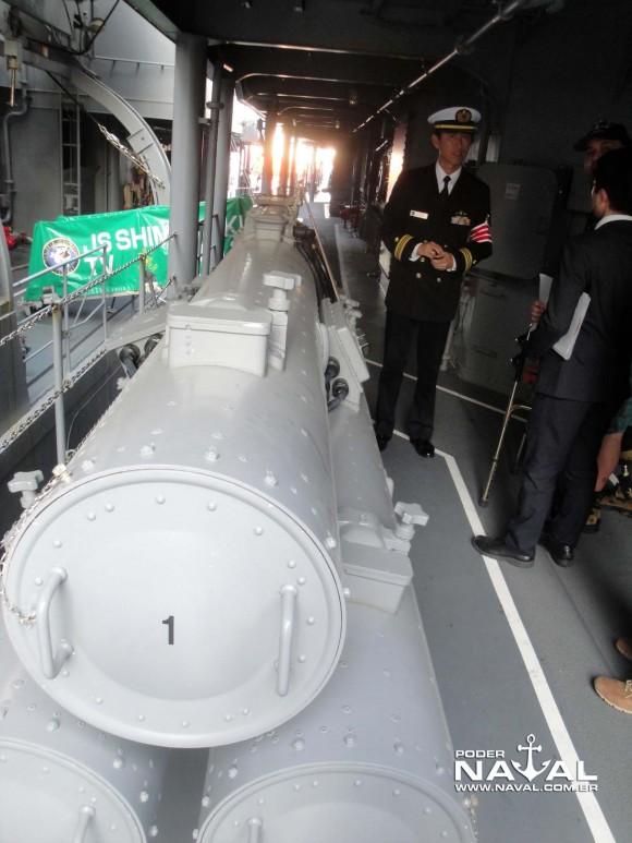 Visita navios japoneses Santos 7-8-2015 - foto 15 Poder Naval