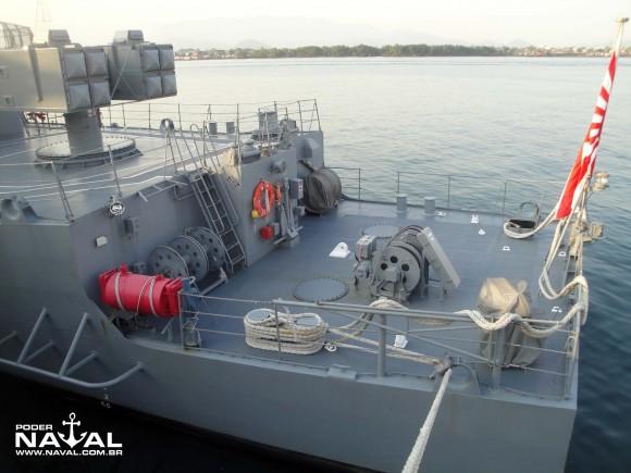 Visita navios japoneses Santos 7-8-2015 - foto 25 Poder Naval