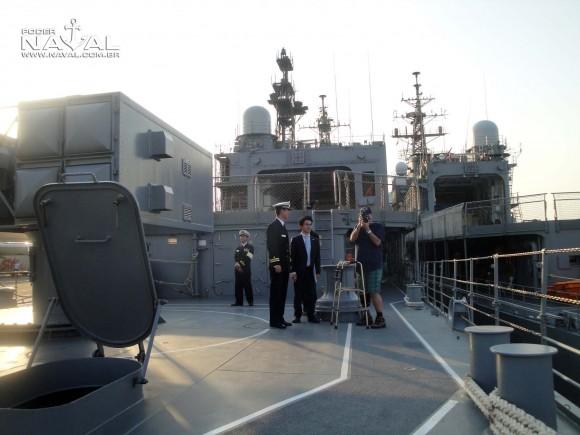 Visita navios japoneses Santos 7-8-2015 - foto 26 Poder Naval