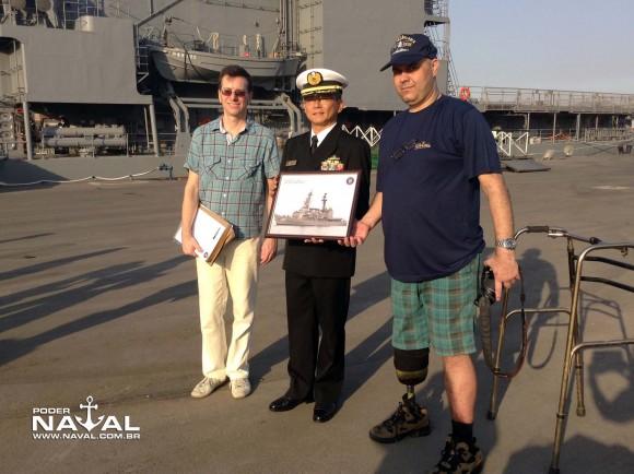 Visita navios japoneses Santos 7-8-2015 - foto 28 Poder Naval