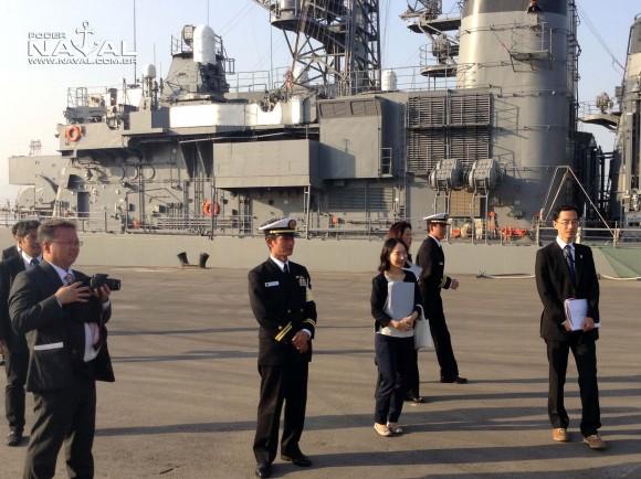 Visita navios japoneses Santos 7-8-2015 - foto 29 Poder Naval
