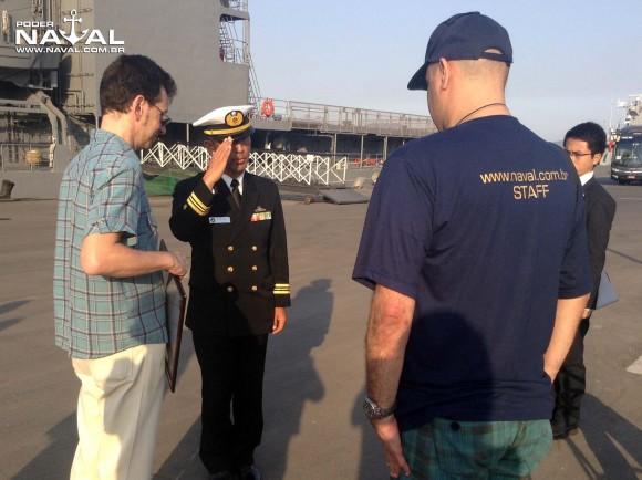 Visita navios japoneses Santos 7-8-2015 - foto 32 Poder Naval