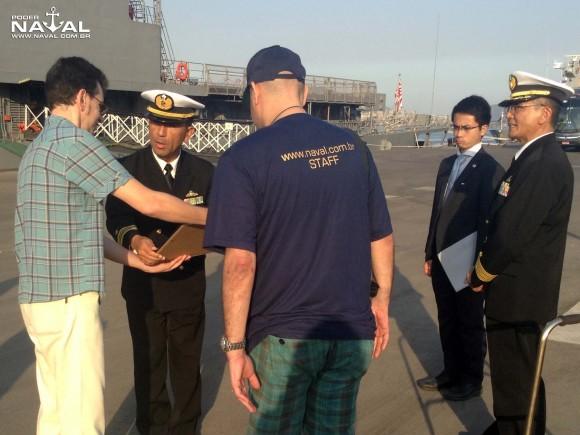Visita navios japoneses Santos 7-8-2015 - foto 33 Poder Naval