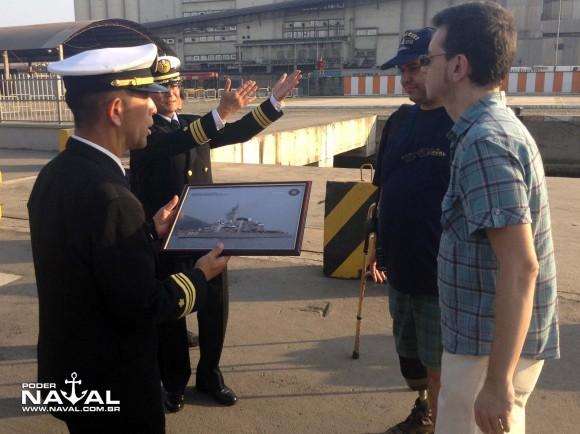 Visita navios japoneses Santos 7-8-2015 - foto 34 Poder Naval