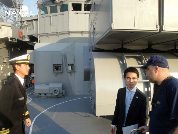 Visita navios japoneses Santos 7-8-2015 - foto 9 Poder Naval