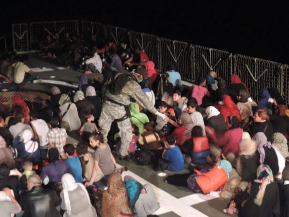 Barroso - resgate refugiados Mediterraneo - foto 5 facebook MB