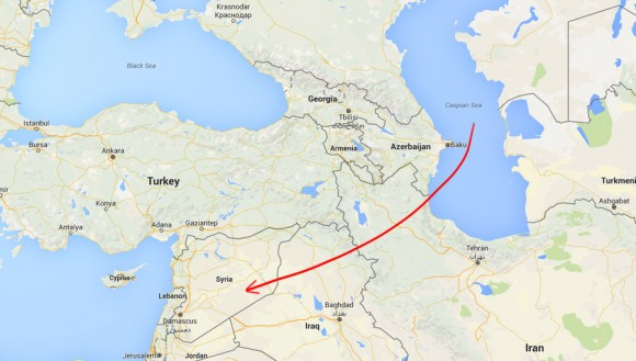 4 Russian warships launch 26 missiles against ISIS from Caspian Sea - 2