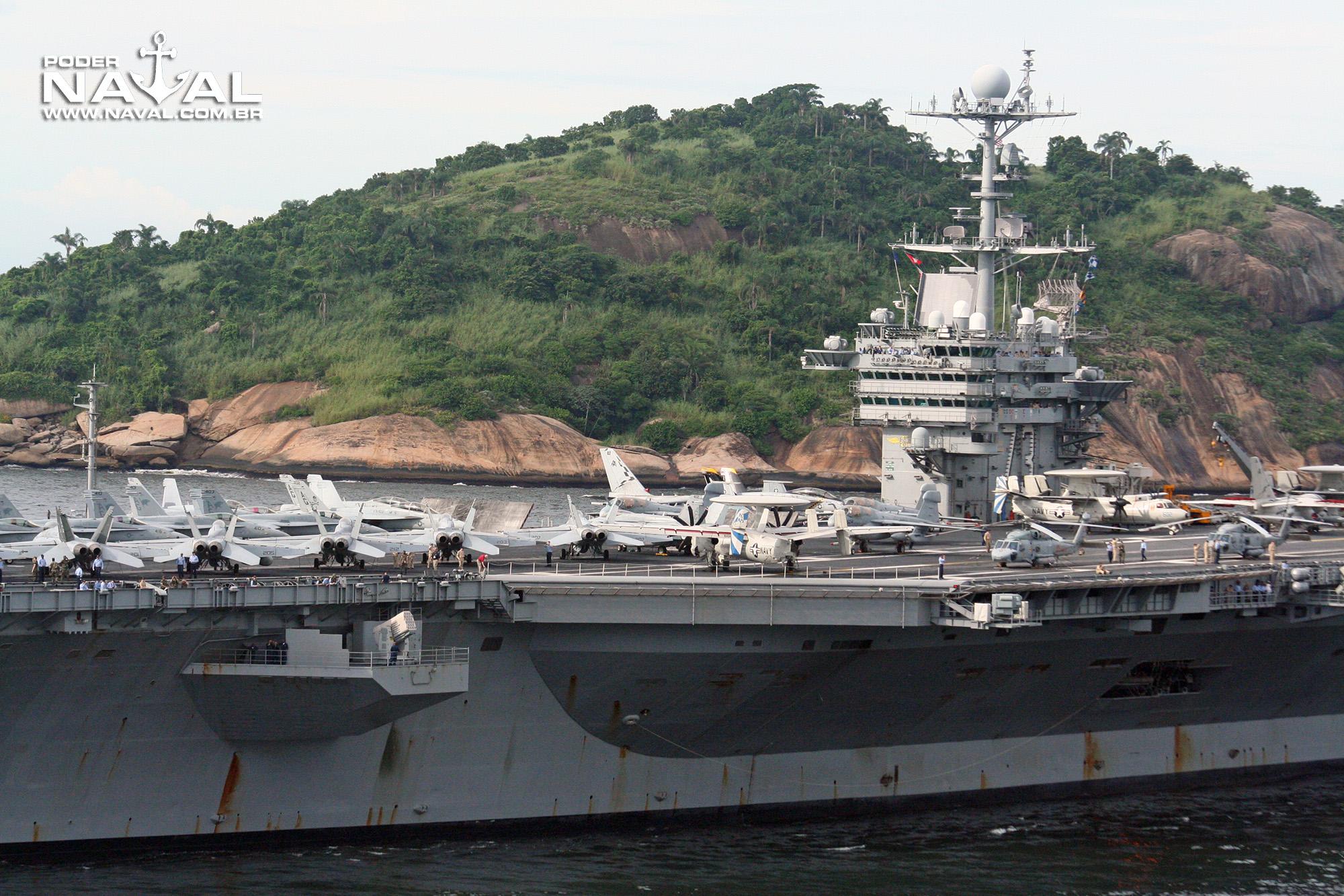 USS George Washington (CVN-73) no Rio - 2008 - 11