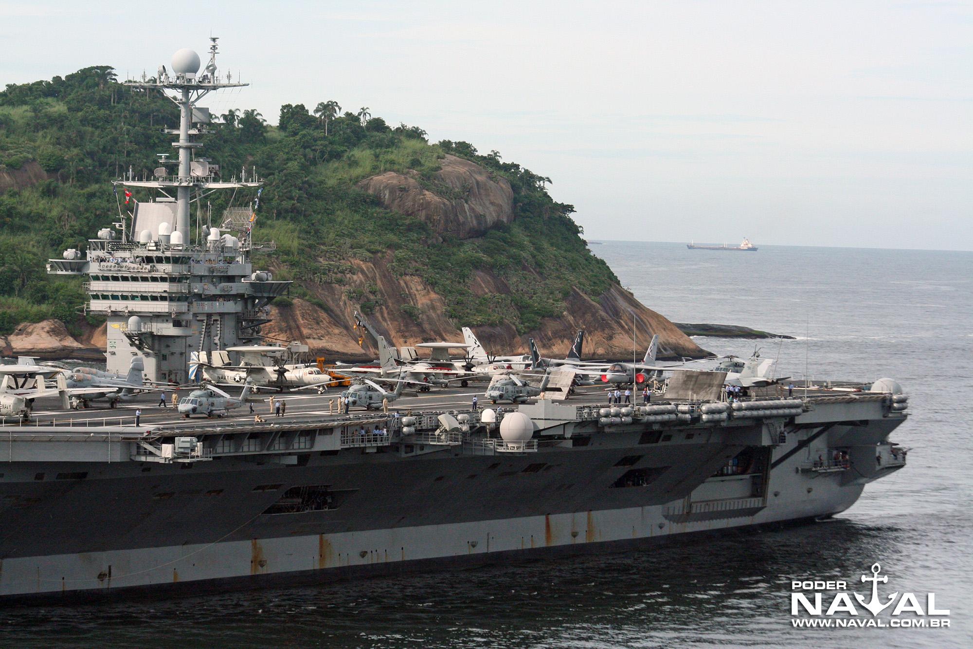 USS George Washington (CVN-73) no Rio - 2008 - 12