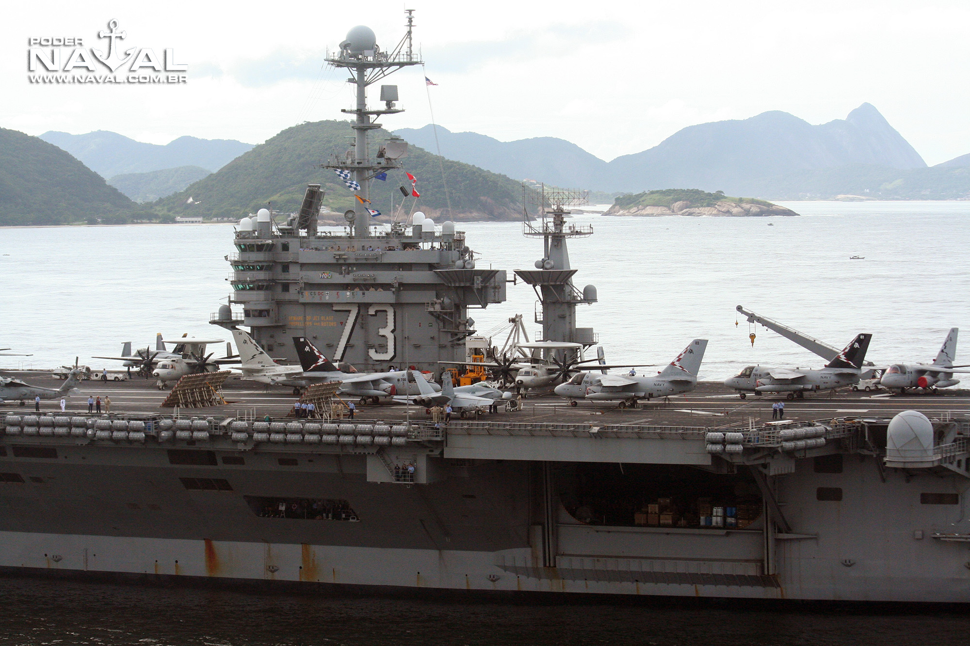 USS George Washington (CVN-73) no Rio - 2008 - 14