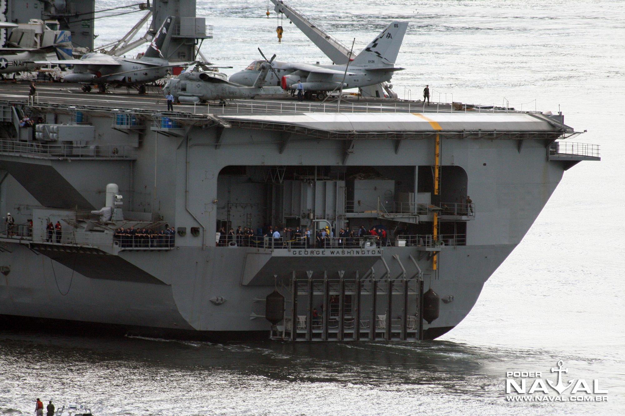 USS George Washington (CVN-73) no Rio - 2008 - 16