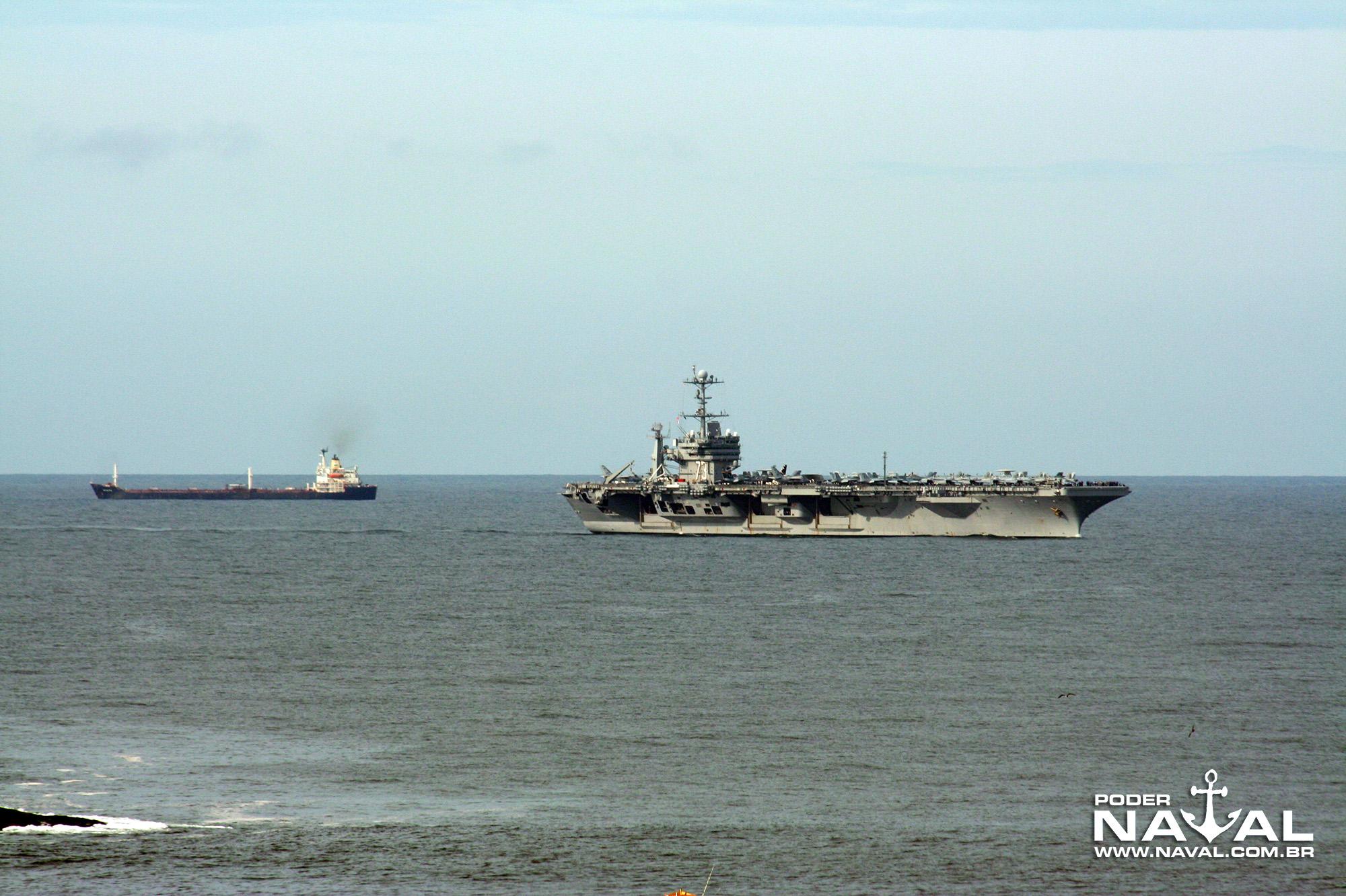USS George Washington (CVN-73) no Rio - 2008 - 2