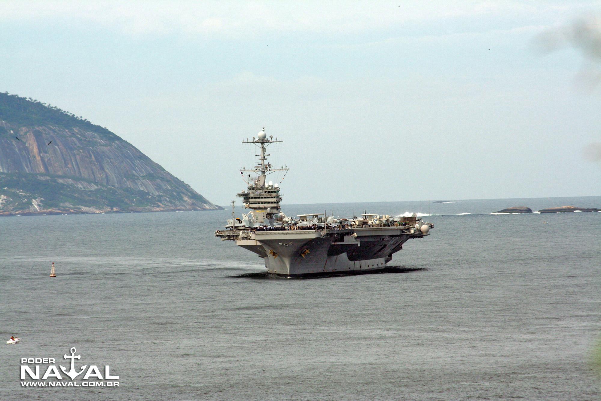 USS George Washington (CVN-73) no Rio - 2008 - 4