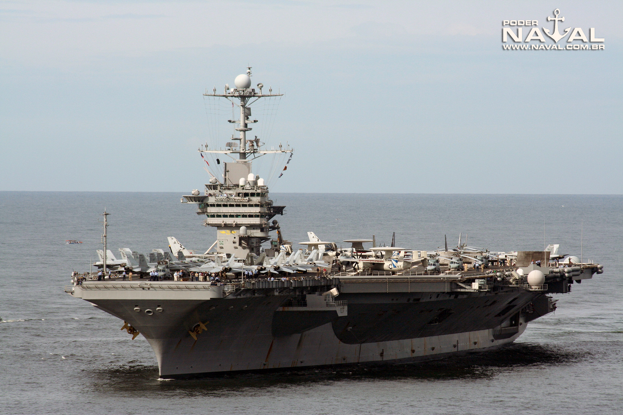 USS George Washington (CVN-73) no Rio - 2008 - 4b