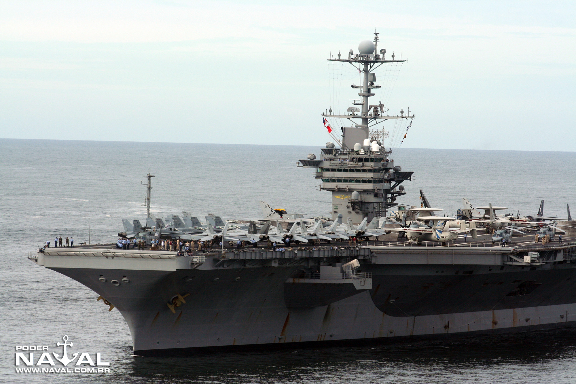USS George Washington (CVN-73) no Rio - 2008 - 5