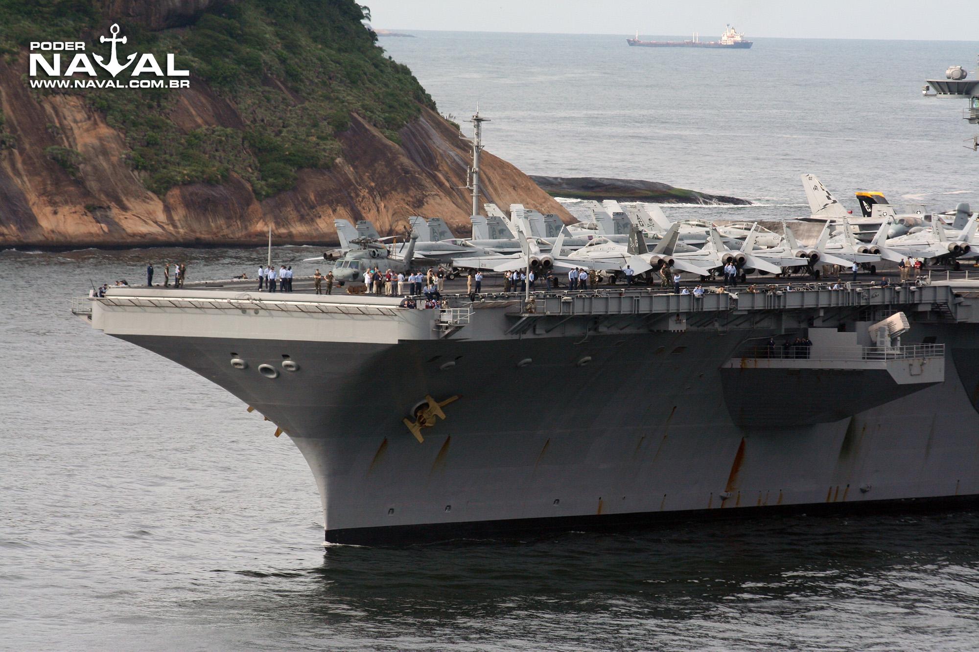 USS George Washington (CVN-73) no Rio - 2008 - 5a