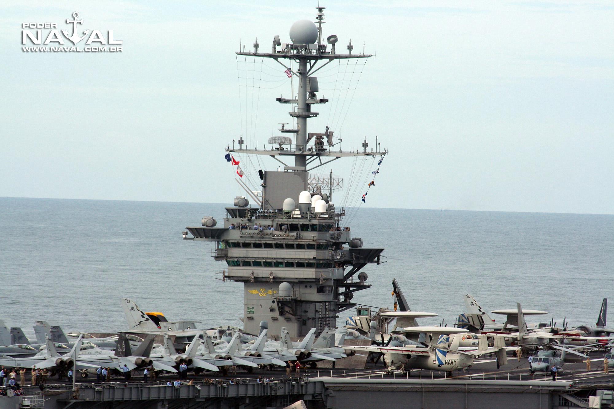 USS George Washington (CVN-73) no Rio - 2008 - 6
