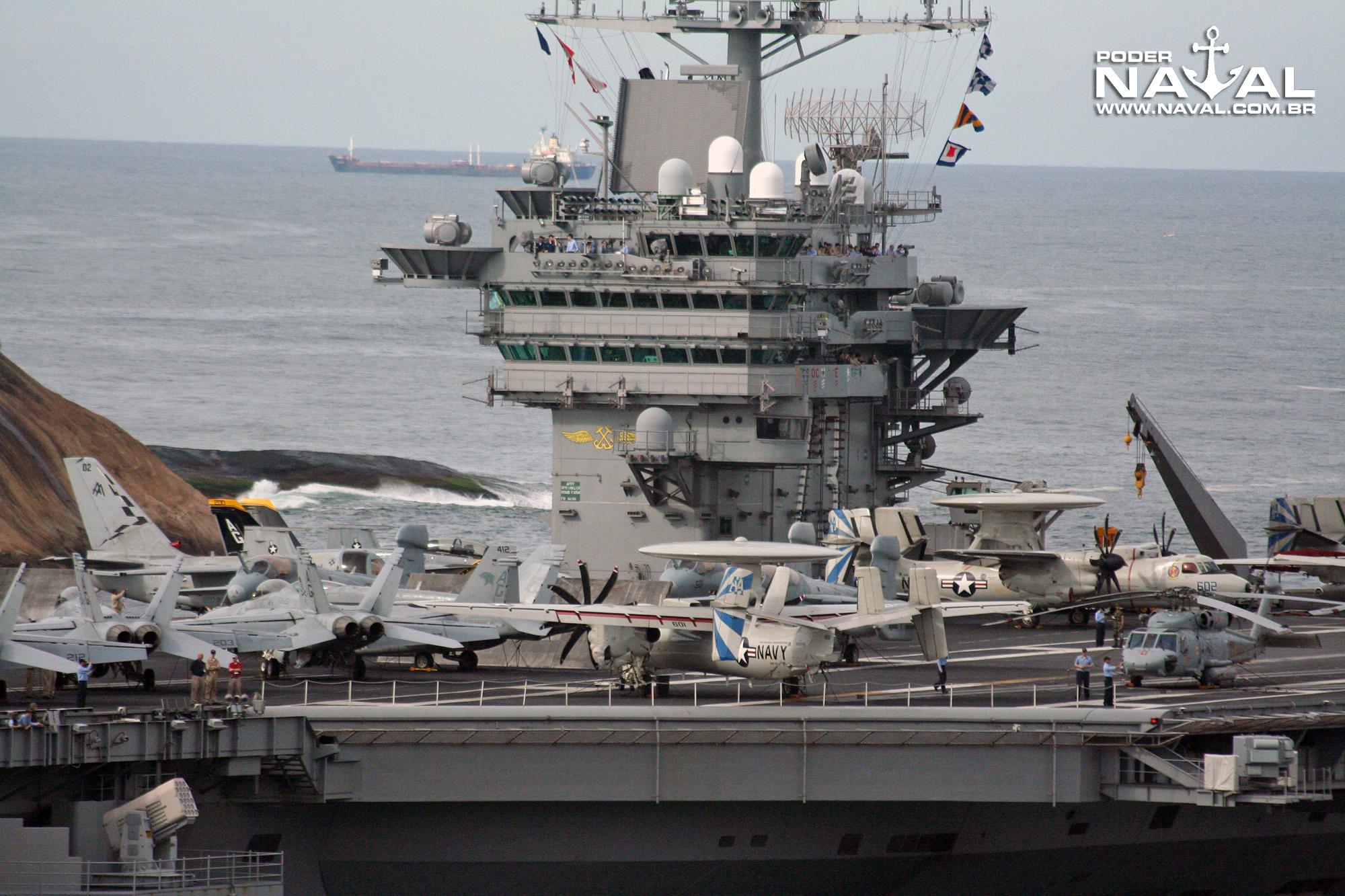 USS George Washington (CVN-73) no Rio - 2008 - 7