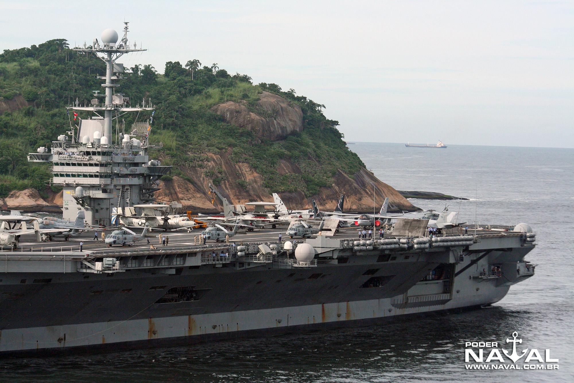 USS George Washington (CVN-73) no Rio - 2008 - 8a
