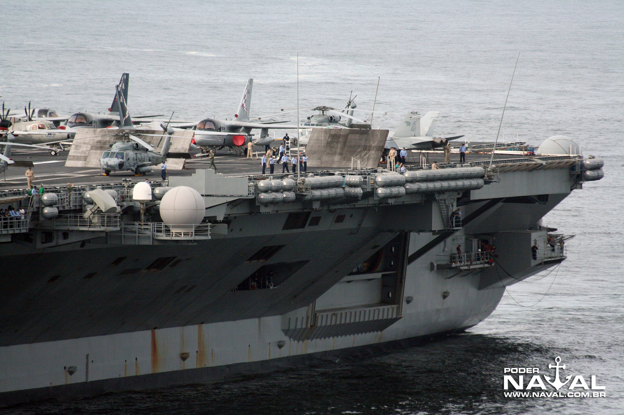 USS George Washington (CVN-73) no Rio - 2008 - 9