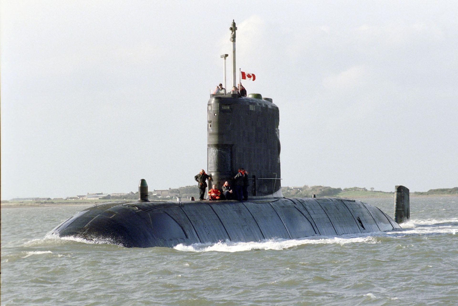 Submarino Type 2400 HMCS Windsor da Marinha Canadense