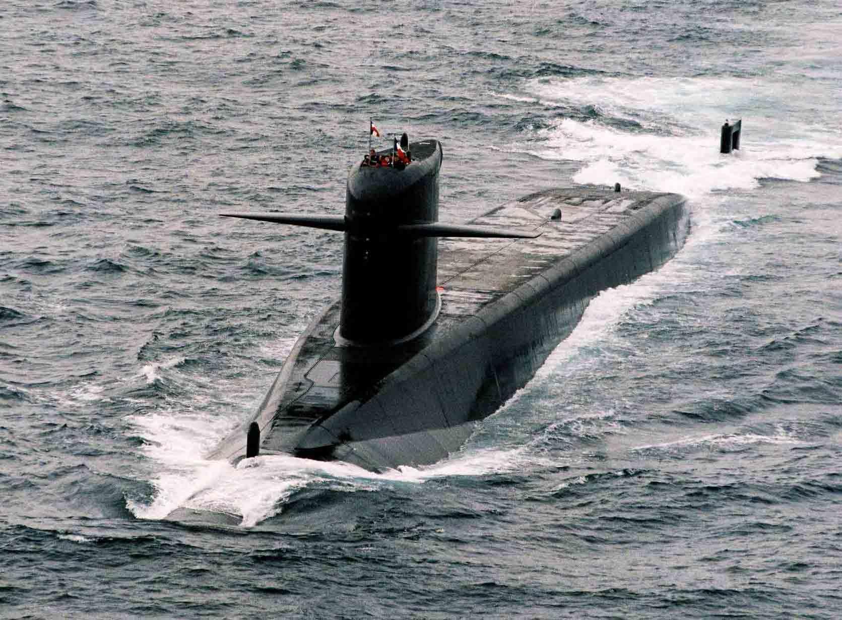 Le Redoutable-class SSBNs 2