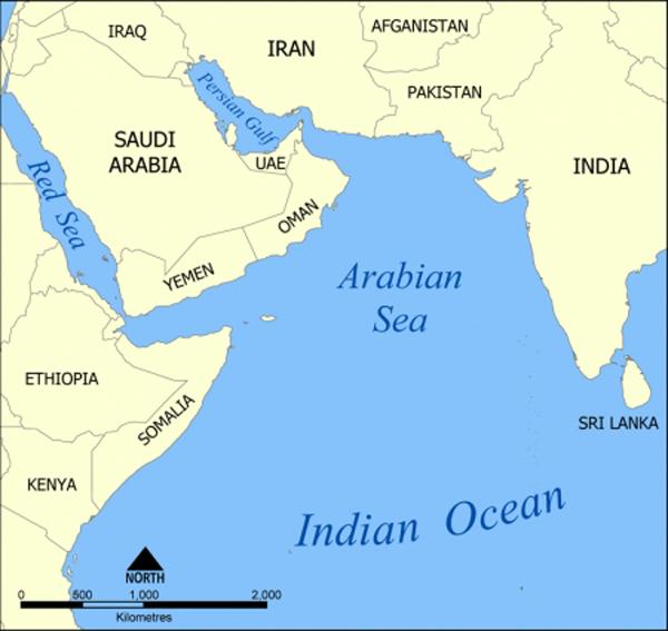 Mapa do Índico