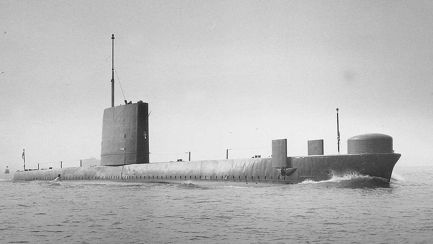 Porpoise class submarine