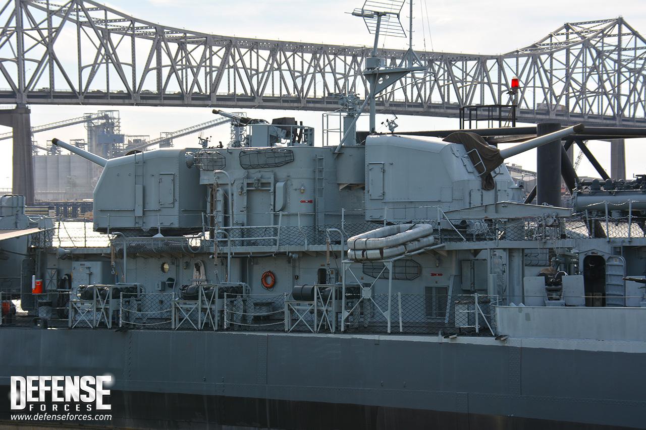 USS Kidd perfil - 5
