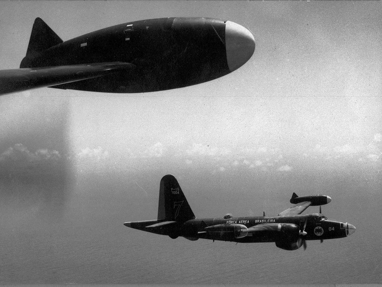 Os P-15 Neptune ainda eram bons aviões de esclarecimento marítimo em 1963. Eles eram operados pelo 1º/7º GAV, baseado em Salvador