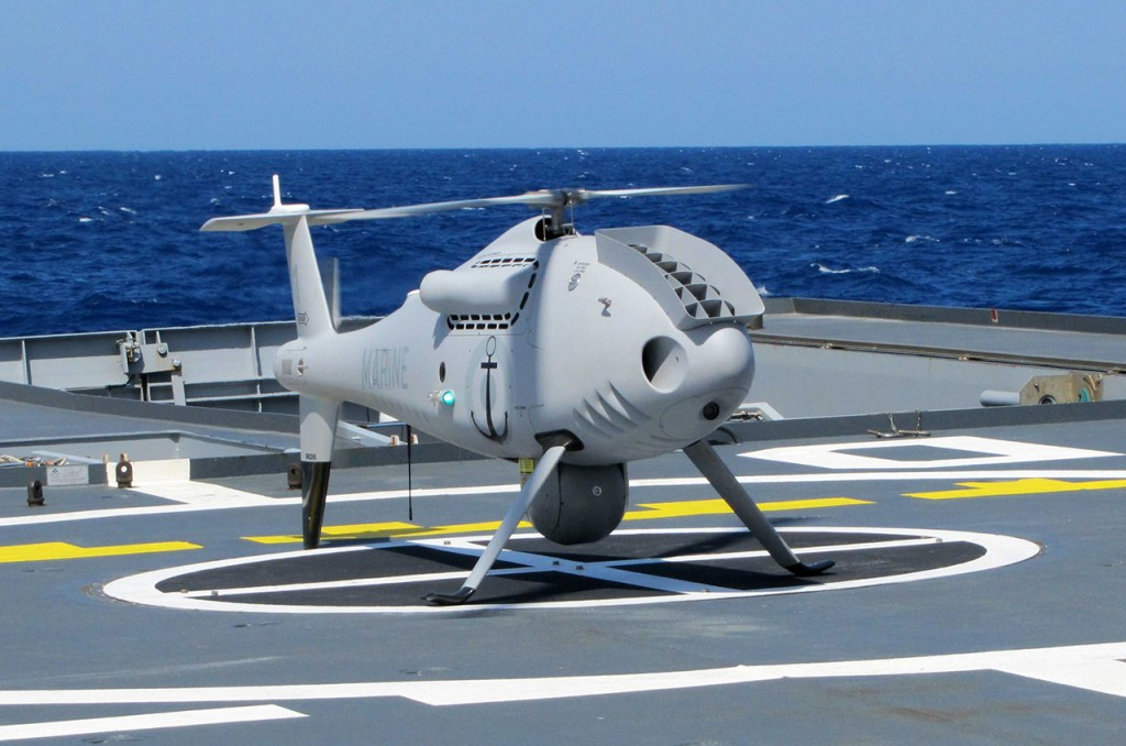 Camcopter S-100 no LAdroit